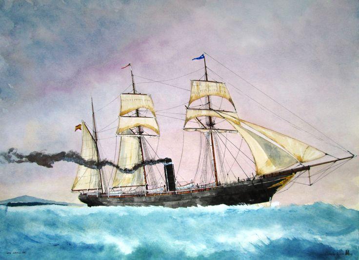 The ship, Antonio Lopez.