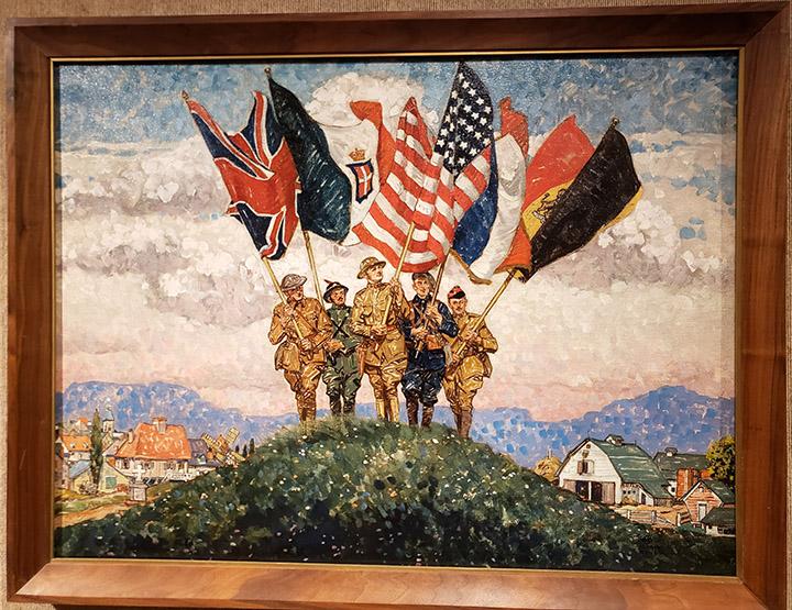 World War I painting.