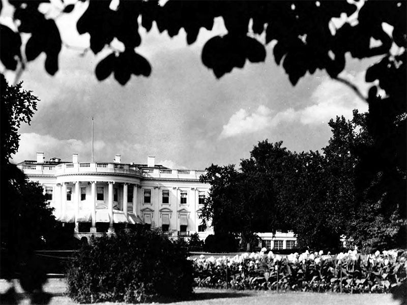 The White House, ca. 1920.