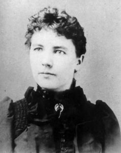 Young Laura Ingalls Wilder.